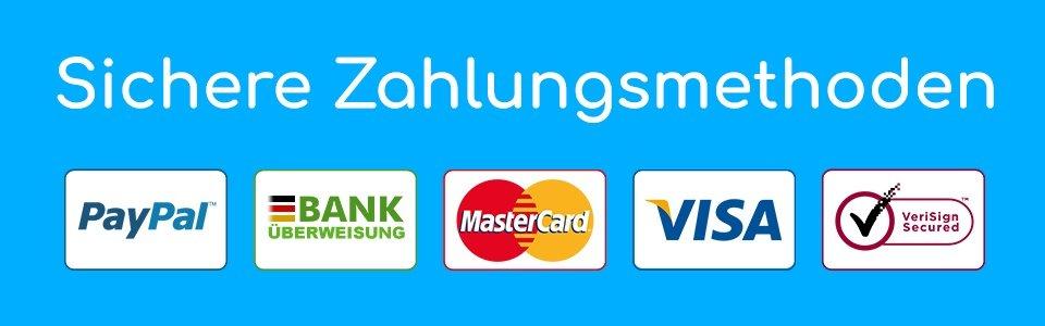 Sichere Zahlungsmethoden