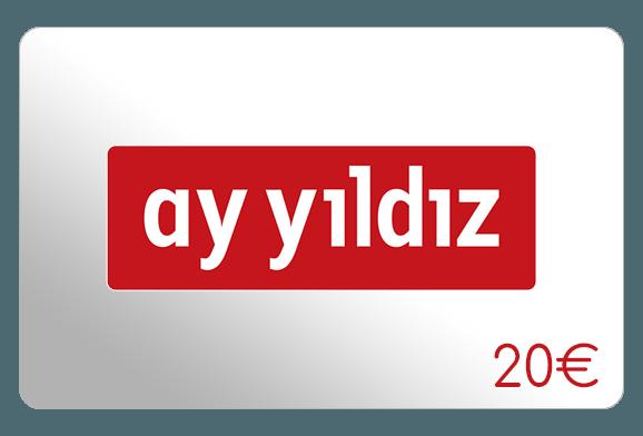 ay yildiz 20 euro aufladen online