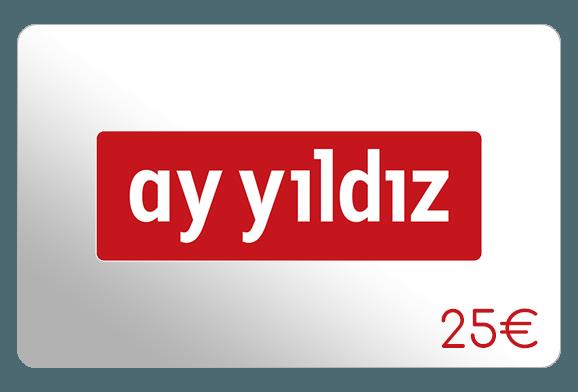 ay yildiz 25 euro aufladen online