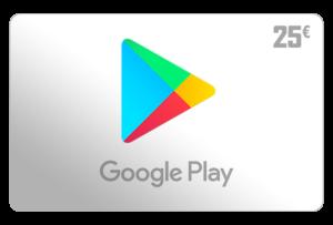 google play guthaben 25 euro aufladen online