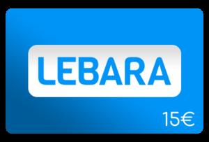 lebara 15 euro aufladen online