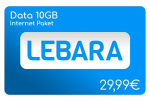 lebara data 10 gb internet aufladen online