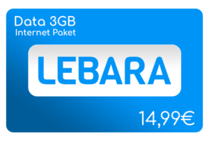 lebara data 3 gb internet aufladen online