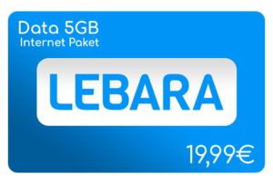 lebara data 5 gb internet aufladen online