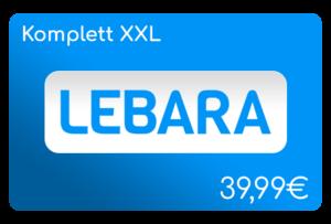 lebara komplett xxl flat aufladen online