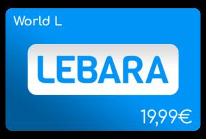 lebara world l flat aufladen online