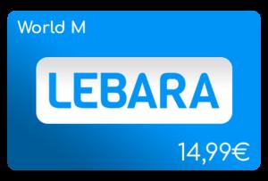 lebara world m flat aufladen online
