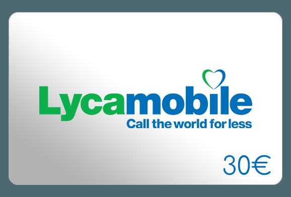 lycamobile 30 euro aufladen online