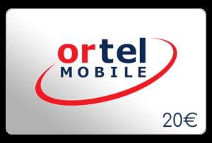 ortel mobile 20 euro aufladen online