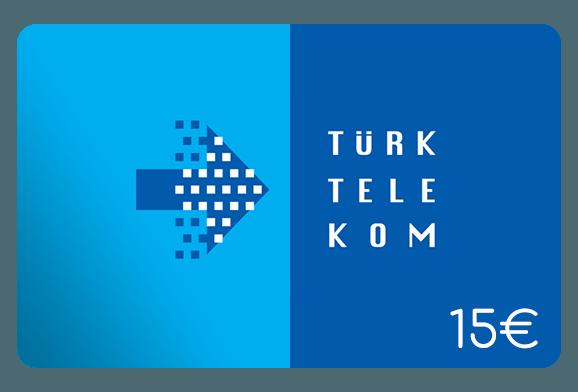 türk telekom 15 euro aufladen online