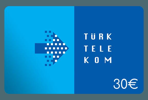 türk telekom 30 euro aufladen online